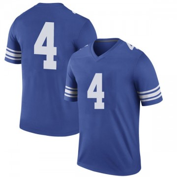 Men's Trey Dye BYU Cougars Nike Legend Royal Football College Jersey